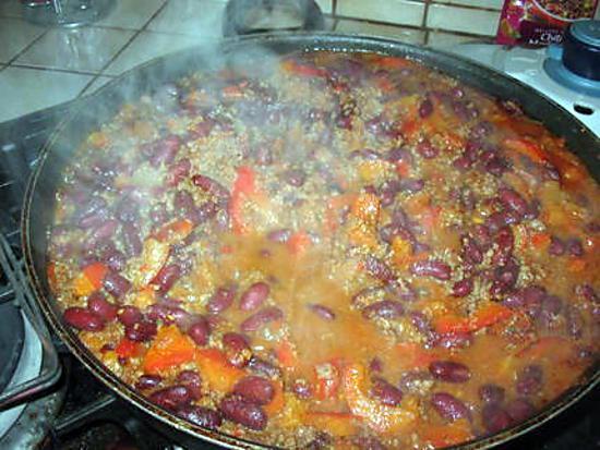 recette chili con carne