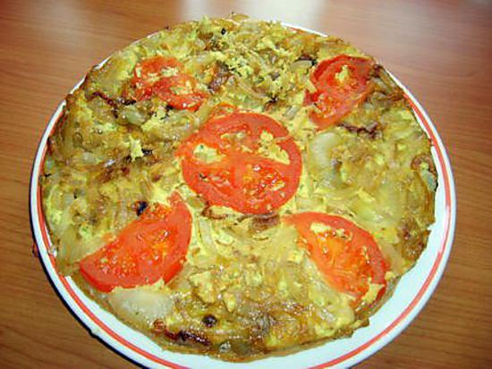 recette Ma tatin oignons/mascarpone
