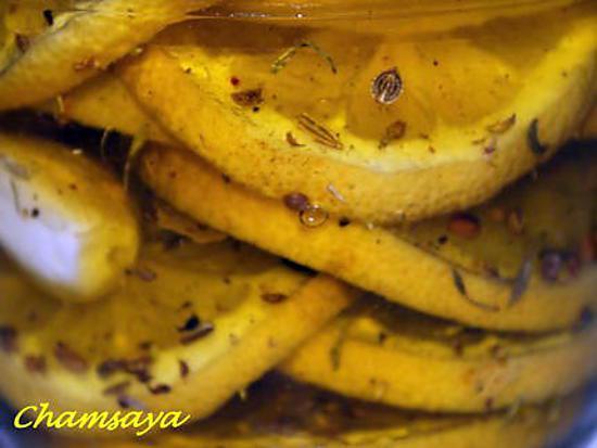 recette Citron confit aux épices et à l'huile d'olive