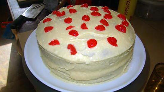 """recette Gâteau """"hummingbird"""" (gâteau américain traditionnel)"""