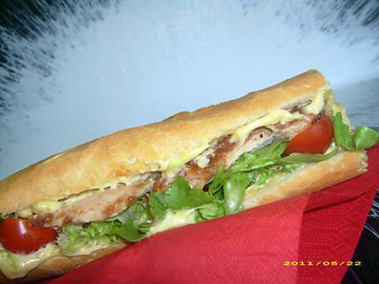 Au bon pain sandwich on baguette pictures to pin on for Baguette de pain maison
