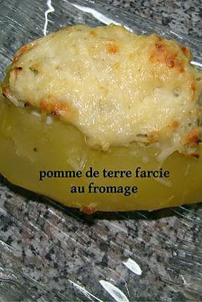 recette pomme de terre farcie au fromage
