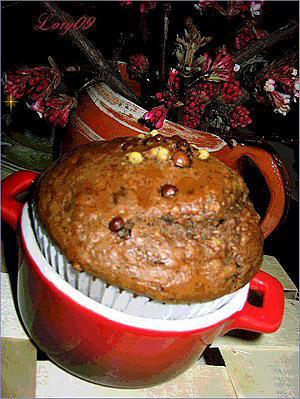 """recette muffins au cacao """"de luxe"""""""