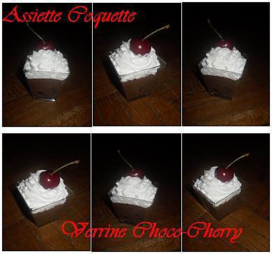 recette Verrine Choco-Cherry