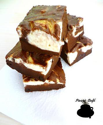 recette Brownie cheesecake