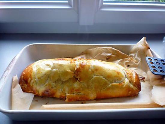 recette Fillet de boeuf en croûte