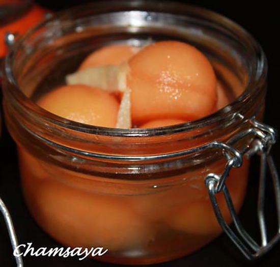 recette Billes de melon au gingembre