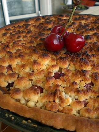 recette Tarte o cerise alasacienne