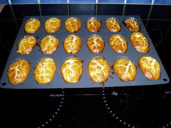 recette madeleine lardons ananas