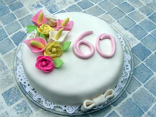 image gateau d anniversaire 60 ans home baking for you blog photo. Black Bedroom Furniture Sets. Home Design Ideas