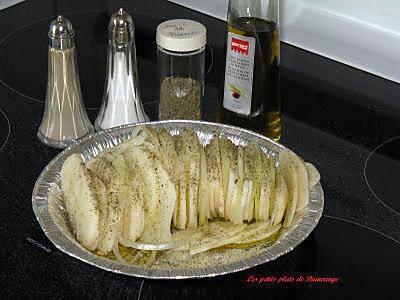 recette Pommes de terre en tranches sur Bar-b-q