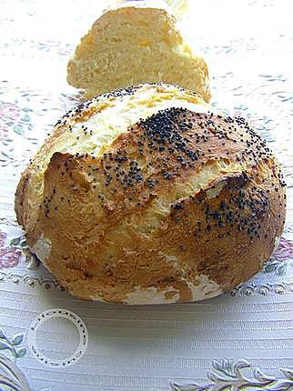 Recette de pain maison sans p trissage - Recette pain sans levure ...