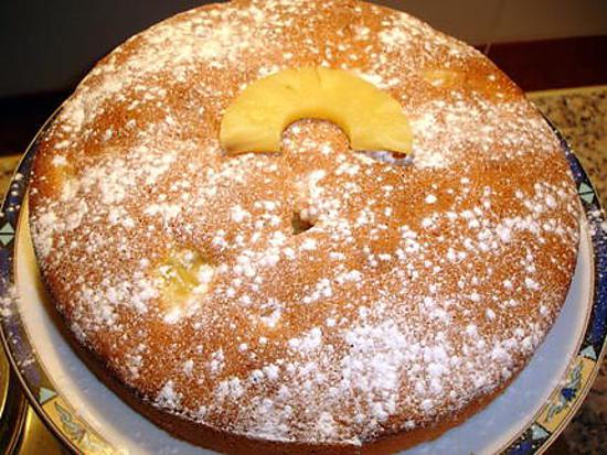 recette cake Ananas Coco
