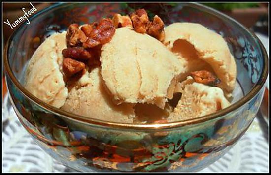 recette Crème glacée caramel (sans sorbetière)