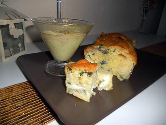 Cake Courgette Poivron Parmesan