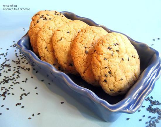recette Cookies au sésame