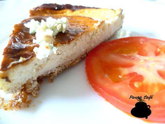 recette Cheese-cake au roquefort