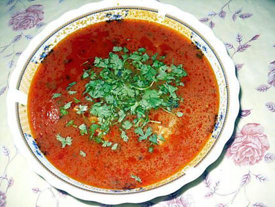 recette Chorba (soupe pour ramadan)