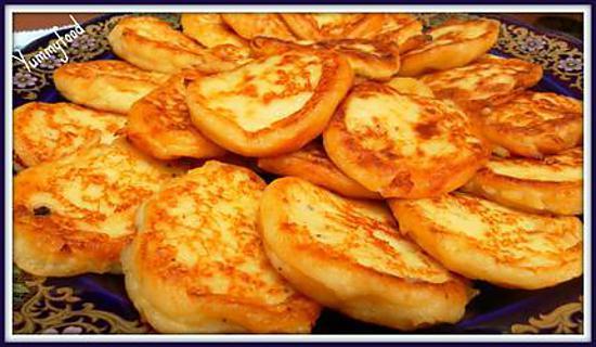 """recette Beignets de pomme de terre à la turque ou """"Patates Köftesi"""""""