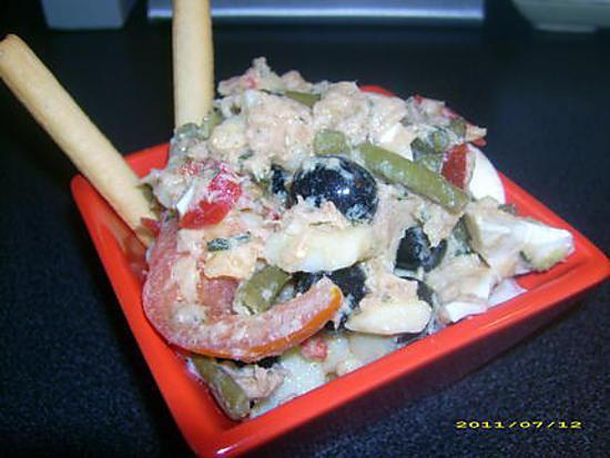 recette de salade de pommes de terre la ni oise par choupette two. Black Bedroom Furniture Sets. Home Design Ideas