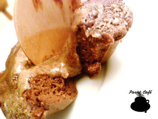recette Coulants au chocolat, coeur de noisette