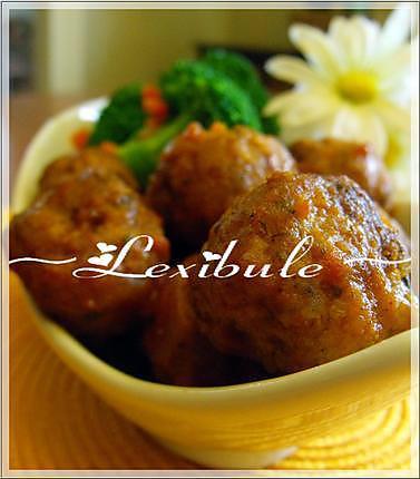 recette Boulettes de porc à l'indienne