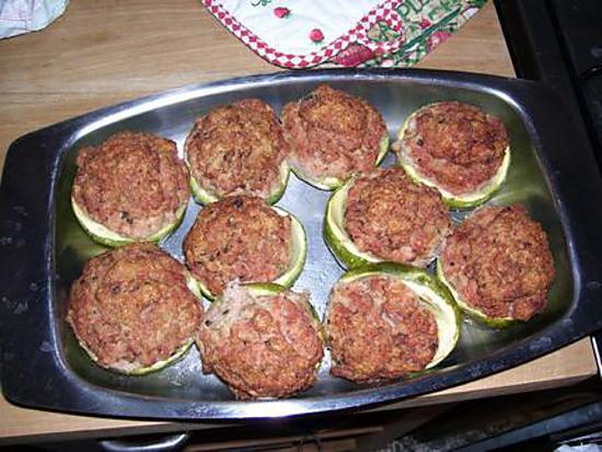 recette Courgettes napolitaines