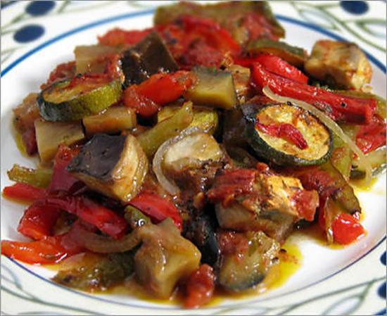 recette Ratatouille (TUPPERWARE)