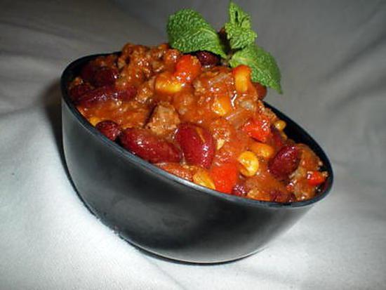 recette Chili con carne (TUPPERWARE)