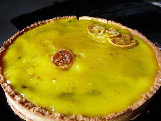 recette Tarte citron-chocolat