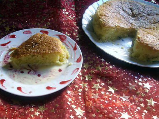 recette Gateau à l 'amande et  mascarpone