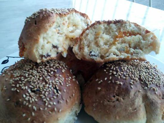 recette Petits pains au yahourt du Dimanche Matin