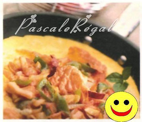 recette Omelette aux poivrons et au piment