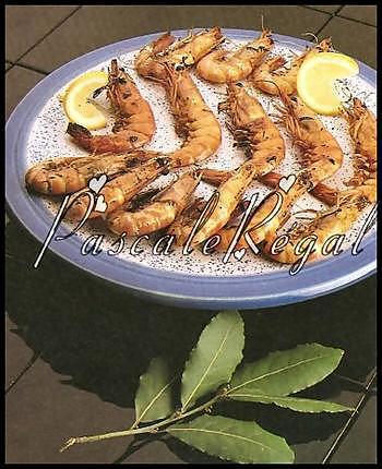 recette Gambas Grillées (Micro-ondes)