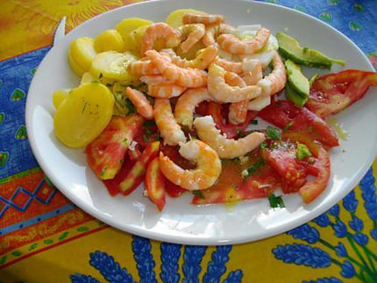Recette de salade d 39 t par vemica for Entree froide ete