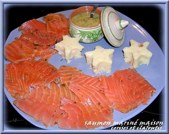 recette saumon gravlax et sa sauce moutarde norvégienne