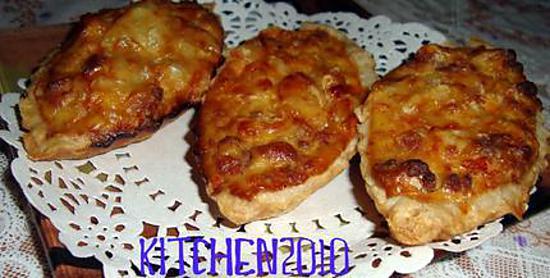 recette Barquettes a la viande hachèe
