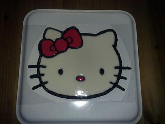 recette Hello Kitty avec la méthode windows color