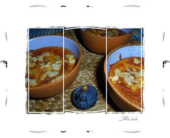 recette Figues gratinées en cassolettes