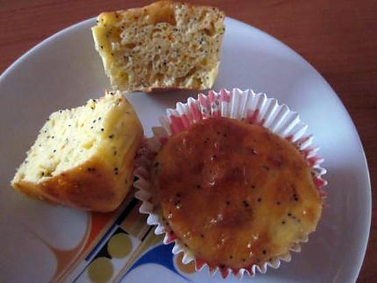 recette MUFFINS CITRON PAVOT SAFRAN