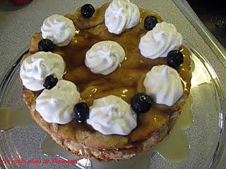 recette Gâteau étagé au sirop