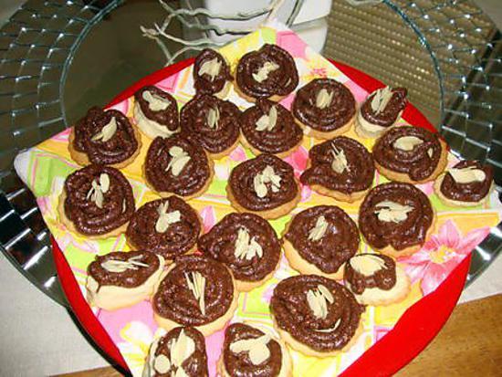 recette sablés aux figues séchées et au chocolat