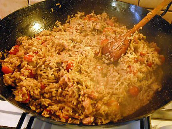 Recette de riz po ler lustucru fa on gourmande - Recette chataigne a la poele ...