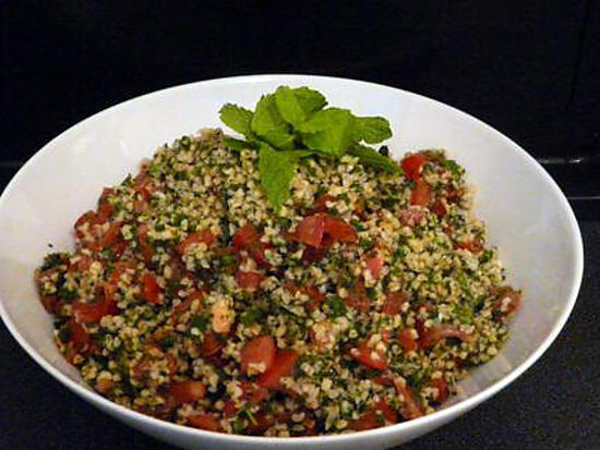 recette taboulé libanais