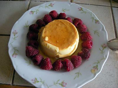 recette Crème renversée ou flan (Recettes culinaires Canton de Neuchâtel)