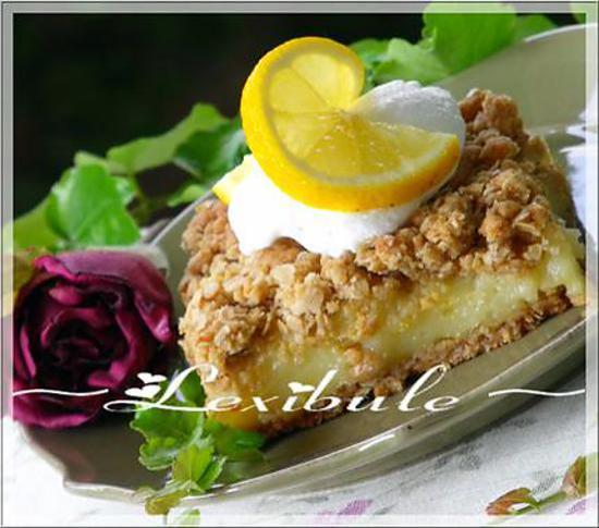 recette Carré au citron et gruau