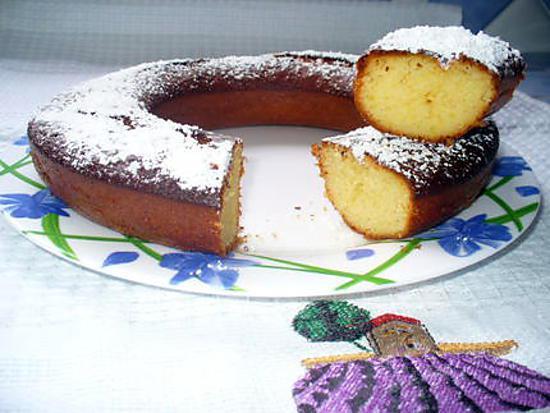 recette gâteau rapide au citron