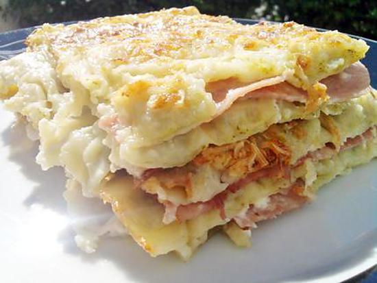 Recette De Lasagne De Ravioles Au Jambon Fromage