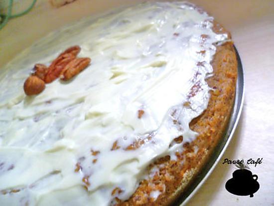 recette Carrot cake