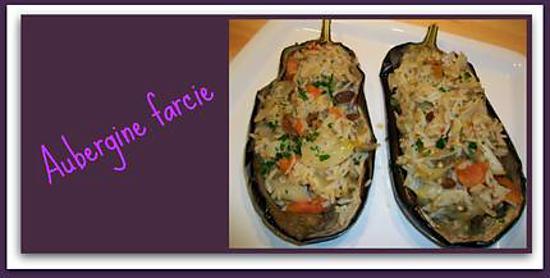 recette Aubergine Farcie